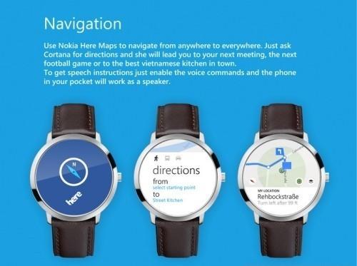 концепт умных часов Microsoft