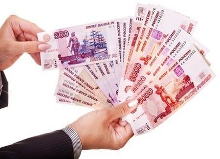 ослабления рубля