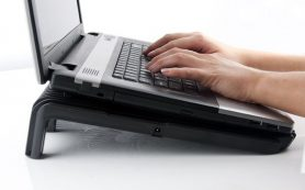 если ноутбук выключается сам