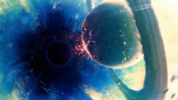 рождение черной дыры