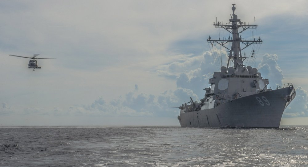 эсминец США
