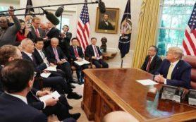 раунд торговых переговоров между США и Китаем