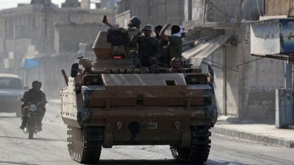 первые потери в Сирии