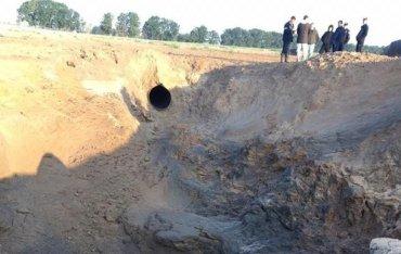 Причины аварии на магистральном газопроводе